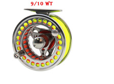 ANGLER DREAM: Trout Salmon Game Fly Fishing 9/10 Fly Reel & Line Combination