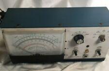 Tested Functional Heathkit Vtvm Im 5228 Amp Bracket Missing Knob Still Works