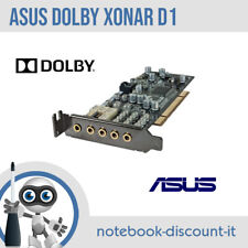 Scheda Audio ASUS Xonar D1 Dolby Surround D1/A PCI 8 Canali 7.1 SPDIF Tested
