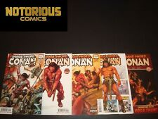 Savage Sword of Conan 1 2 3 4 5 Complete Comic Lot Run Set Marvel EXCELSIOR BIN