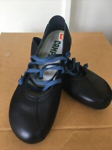 Camper Ballerina Style Shoe Design Called Peu Colour Black