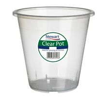 Clear Orchid Pot 13cm by Stewart Garden Products 13 Cm