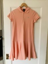 New Polo Ralph Lauren Classic Coral Polo Dress XL Age 16 Years RRP £79