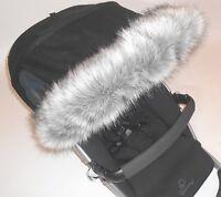 Mothercare / Mamas & Papas hood  fur trim, pushchair, pram / universal fit