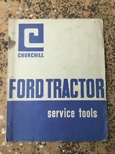 FORD TRACTOR SERVICE TOOLS MANUAL BROCHURE BOOKLET 60s CLASSIC PRE-FORCE MODELS,