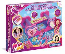 Clementoni Mia and Me Der Magische Zauberwebrahmen Webrahmen Bastelset Schmuck