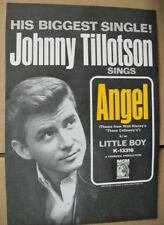 Johnny Tillotson 1965 Ad- Angel/Little Boy  Walt Disney Those Calloways  MGM