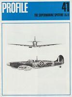 Profile Aircraft No. 41 Supermarine Spitfire Mks. I-II (RAF Fighter WWII)