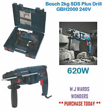 Bosch 2kg SDS Plus Drill GBH2000 240V ** PURCHASE TODAY **