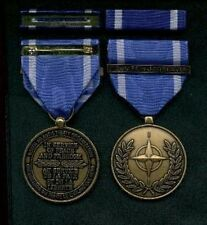 NATO Service medal with ribbon Former Yougoslavia bar