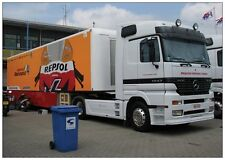 Photo Mercedes Team Truck Repsol HRC Honda MotoGP Team Dutch TT Assen 2009