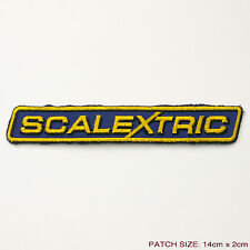 SCALEXTRIC - Slot Racing Cars Logo Embroidered Patch, Modern Style...