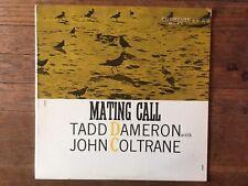 Mating Call - Tad Dameron / John Coltrane Prestige Vinyl 1992 Reissue LP