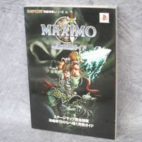 MAXIMO Perfect Guide Book PS2 FT07*