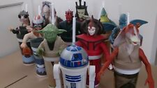 Star Wars USA KFC/Taco Bell/Pizza Hut Complete Set Of 12 Cup Toppers New/Unused