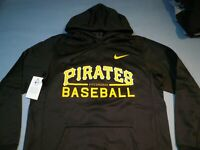 Nike Pittsburgh Pirates Baseball MEDIUM BRAND NEW MLB Hoodie dri fit NWT Pitt
