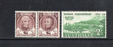 AUSTRALIA 1953- 150th ANNIVERSARY SETTLEMENT OF TASMANIA COMPLETE SET OF 3 MUH