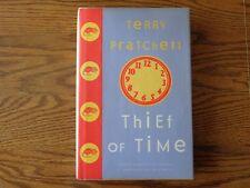 Discworld: Thief of Time by Terry Pratchett (2001, Hardcover) HC/DJ 1st Edition