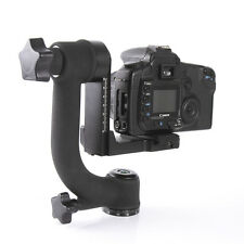 "Pro BK-45 360° Swivel Gimbal Tripod Head 1/4"" Screw f DSLR Cmaera Telephoto Lens"