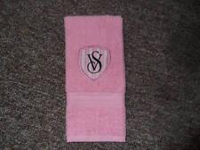 Embroidered ~VICTORIA'S SECRET INSPIRED~ PINK Kitchen Bath Hand Towel