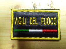 Patch toppa VIGILI DEL FUOCO VDF pompieri protezione civile italia vigili