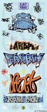 1895 - Decals Graffiti Bogen 1:87
