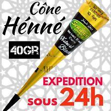 PROMOTION - Cône henne Noir Vendeur en FRANCE / EXPÉDITION sous 24h
