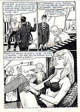 FLASH ESPIONNAGE PLANCHE ORIGINALE AREDIT PAGE 12