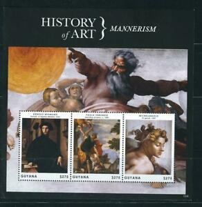 Guyana / History Of Art . Mannerism . Miniature Sheet . MNH