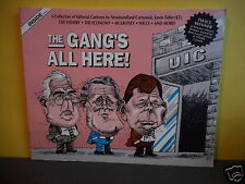 The Gangs All Here! (political cartoons,Newfoundland,Mulroney,Clyde Wells)