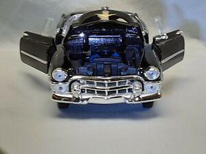 Welly Diecast 1953 Cadillac Convertible Eldorado Black 1:24 #22414