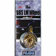 Fujimi TW04 1/24 scale BBS LM Wheel & Tire Set 18 inch from Japan