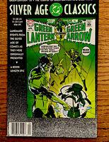 SILVER AGE CLASSICS - #76  GREEN LANTERN & GREEN ARROW NEVER READ-MINT #6