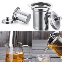 Reusable Mesh Infuser Tea Strainer Leaf Spice Filter Stainless Steel For Teapot-