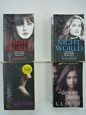L.J. SMITH - JOB LOT FOUR FICTION PAPERBACK BOOKS OF PARANORMAL THRILLS