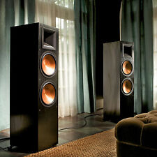 Klipsch Rf-7Ii Reference Floorstanding Speaker Black Pair B Stock New Authorized