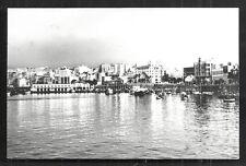 Cueta rppc Harbour DUTCH edition Spain stamp 1963