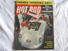 Hot Rod Magazine April 1957 Missouri Missle Volkswagen Hot Rodders