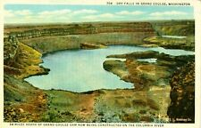Grand Coulee,WA. Dry Falls in Grand Coulee, an Ancient River Bed