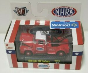 M2 NHRA 1956 Ford F-100 Tow Truck Red/White LE 7000