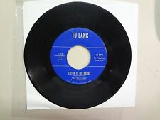 """WILD ONES: Listen To The Drums 2:20- Baby.I Love You-U.S. 7"""" 1965 TU-LANG T 603"""