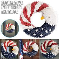 American Eagle Wreath - Patriotic Wreath For Front Door