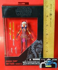 "Star Wars 3.75"" Black Series AHSOKA TANO Rebels Walmart Exclusive The Clone Wars"