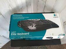 Logitech Elite Keyboard Clavier Wired PS/2 Open Box