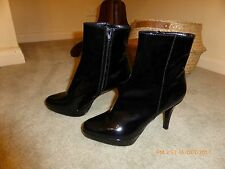 Filippo Raphael Patent Leather Boot Brand New Never Worn 38.5