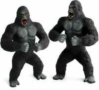 "7.5"" King Kong PVC Action Figure Toy Gift Black Gorilla in Skull Island Model"