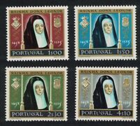 Portugal 500th Birth Anniversary of Queen Leonora 4v 1958 ** MNH SG#1158-1161
