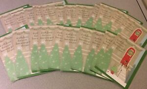Lot of 22 Christmas Holiday Greeting Cards New in Plastic Dog Hallmark Cards