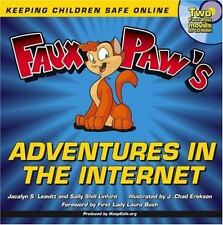 Faux Paw's Adventures in the Internet: Keeping Children Safe Online-ExLibrary