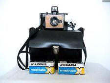 Appareil Photo Polaroid EE33 + Flash Cube + Sacoche